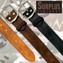 SURPLUS 40mm幅 0番ステッチベルト SP4003