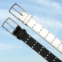 35mm パンチングトリプルホールベルト