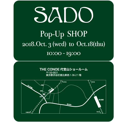 Pop Up Shop開催